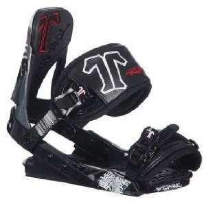 Technine Mens Mass Appeal Snowboard Bindings   Black S/M