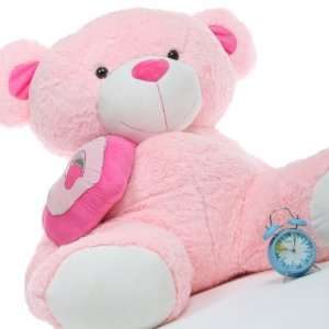 Pie Big Love Pink Huggable Life Size Teddy Bear 56in Toys & Games