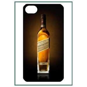 Johnny Walker iPhone 4 iPhone4 Black Designer Hard Case