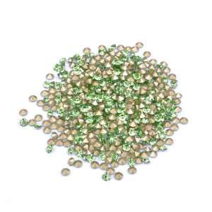 Gold Green Gel Nail Art Diamond /Nail Art Products Fashionable Beauty