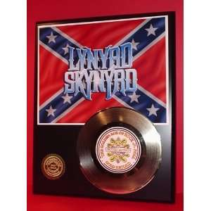 LYNYRD SKYNYRD GOLD RECORD LIMITED EDITION DISPLAY