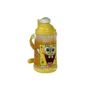 com Spongebob Squarepants Sipper Bottle   Water Bottle Toys & Games