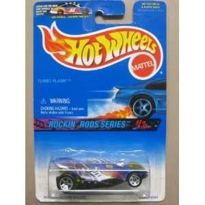 Hotwheels Turbo Flame Rockin Rods Series #3 4 #571 Toys