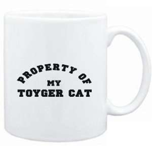 Mug White  PROPERTY OF MY Toyger  Cats