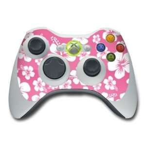 Aloha Pink Design Skin Decal Sticker for the Xbox 360
