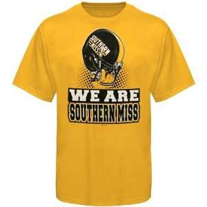 USM Golden Eagles Shirts  Southern Miss Golden Eagles Gold