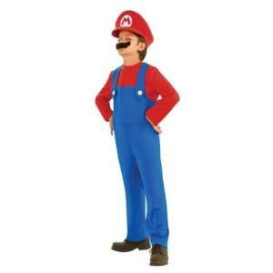 Super Mario Bros Deluxe Mario Costume Child Medium Size 8