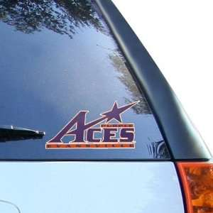 NCAA Evansville Purple Aces 4 Team Logo Car Decal