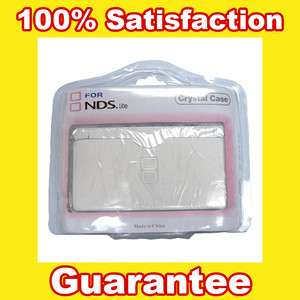 Crystal Clear Cover Hard Skin Case for Nintendo DS Lite