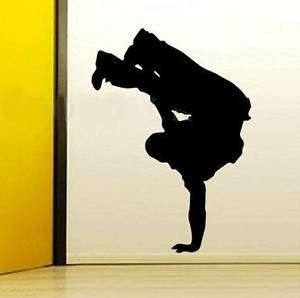 Hip Hop Street Dance Wall Vinyl Mural Art Decal Sticker