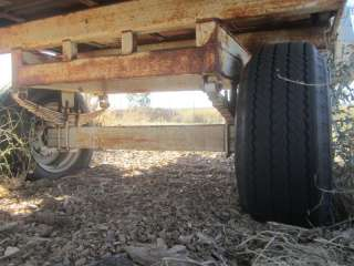 Trailer   Laird Rolloff Dairy Feeder Hydraulic Chain Drive 20 Feet