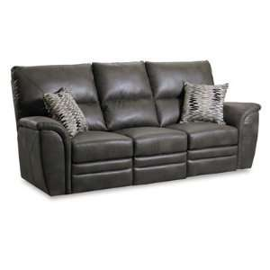 Lane Vaughn Double Reclining Sofa with Storage Drawer