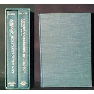 American Secretaries of the Navy   Two Volume Set  Books