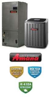 Ton 18 Seer Amana Heat Pump System   ASZC180481   AVPTC42601