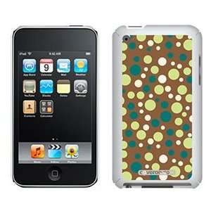 Connect the Dots Green on iPod Touch 4G XGear Shell Case