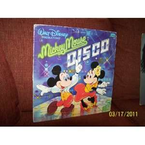 Walt Disney Productions MICKEY MOUSE DISCO LP VINYL ALBUM 1979 #2504