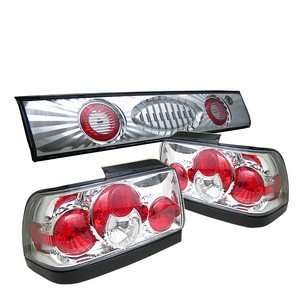 93 95 Toyota Corolla Altezza Trunk Chrome Tail Lights