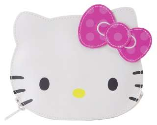 NEW SANRIO HELLO KITTY FACE CHANGE COIN BAG PURSE WALLET