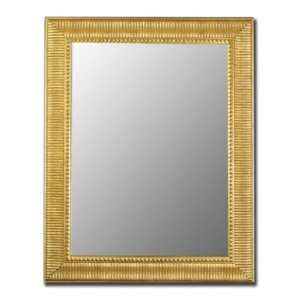 Hitchcock Butterfield 650208 Cameo 34x70 Tarnished Gold Wall Mirror