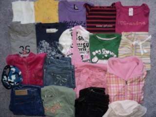 20 piece lot of girls clothes. Size 7 12. Gymboree, Old Navy, and etc