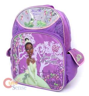 Disney Princess Tiana and the Frog School Backpack  16 Large