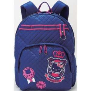 Hello Kitty Emblem   Backpack Toys & Games