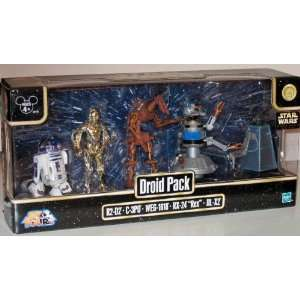 Disney Star Wars Droid Figure Figurine Set Toys & Games