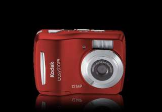 Kodak EASYSHARE C1505 Digital Camera (Red) 8668725 041778668726