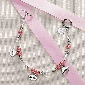Day Gifts   Personalized Charm Bracelets   Live, Love, Laugh Jewelry