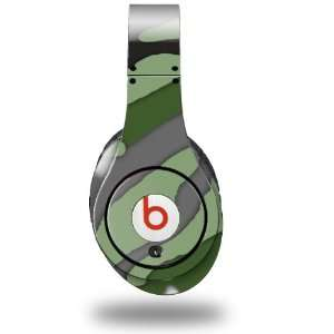 Camouflage Green Decal Style Skin (fits genuine Beats