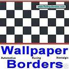 Checkere​d Flag Wallpaper Border NASCAR Formula One F1