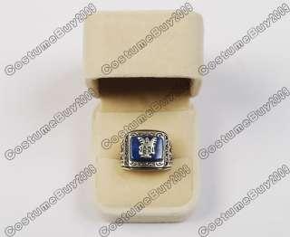 Vampire Diaries Elena Bother Jeremy John Revive Ring 100% 925 Silver