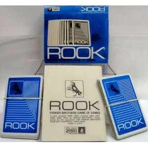 1972 Blue Box Edition Rook Card Game By Parker Brothers Toys & Games