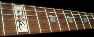 Rose (WS) Fret Markers Inlay Sticker Decal Guitar