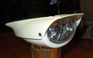 Vintage Delta Bicycle Bike Double Lamp Head Light Finned 50s   60s