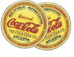 vintage looking coke logos but new water decals