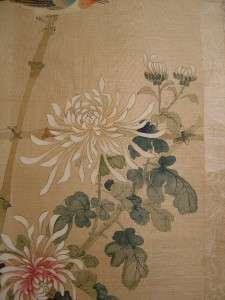 ANTIQUE CHINESE/JAPANESE PAINTINGS   SILK SCROLLS   SIGNED