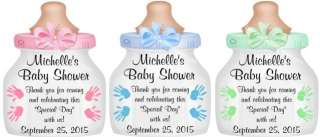 UNIQUE BABY SHOWER BOTTLE THANK YOU PARTY FAVOR TAGS