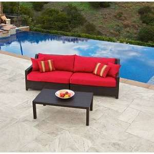 Cantina Sofa and Coffee Table Set Patio Furniture Patio, Lawn