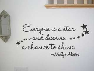 Vinyl Wall Quote Decal Home Decor Art Marilyn Monroe Quotes