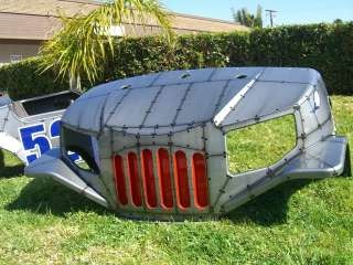 TOMBERLIN EMERGE CUSTOM ROOF COWL Golf Cart body FIGHTER PLANE MUSTANG