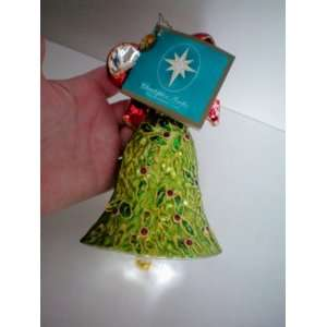 Christopher Radko Christmas Ornament    Holly Berry Bliss    Fine