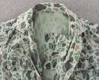 ROK MARINE CORPS HBT DUCK HUNTER CAMO MILITARY UNIFORM SHIRT PANTS