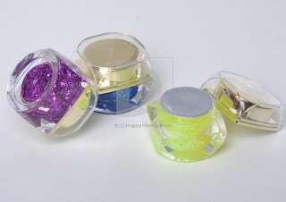 New 12 Color Shimmer Paillette Glitter Gel for Nail Art Manicure