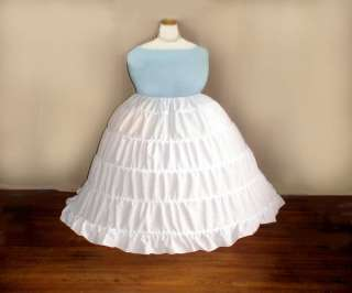 Plus Size 16 52 1x 10x Extra Full Civil War Hoop Skirt