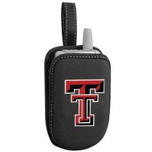 Texas Tech Red Raiders Black Team Logo Cellphone Case