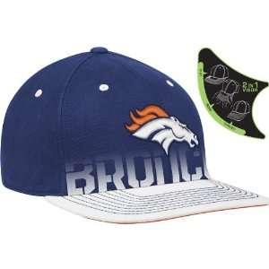 Reebok Denver Broncos Sideline Player Pro Shape Flat Brim Flex Hat