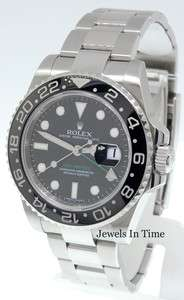 GMT Master II 116710 Stainless Steel Ceramic G JEWELS IN TIME