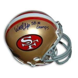 Wendell Tyler Autographed/Hand Signed San Francisco 49ers Mini Helmet