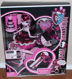 You are bidding on a Monster High Draculaura Sweet 1600 doll. It is